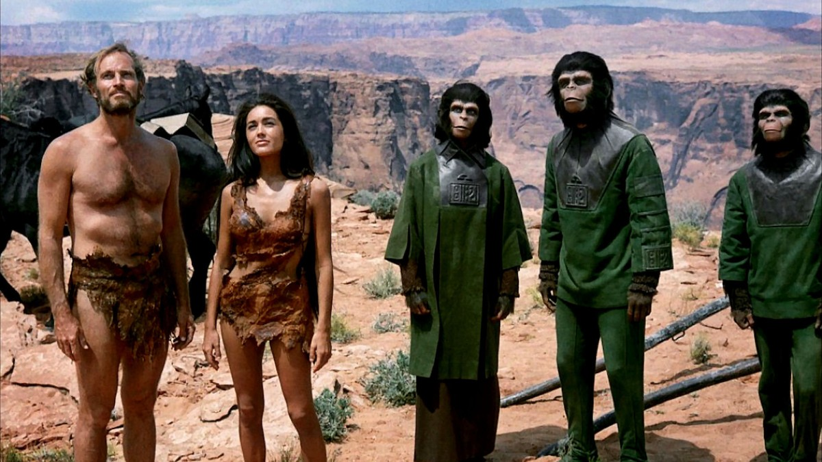 Film Friday: Planet of the Apes and its Stupid Poster (1968)(spoilers)